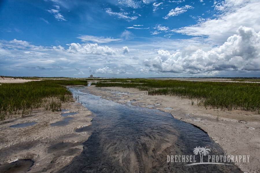 Inlet view of Shell Island | photo by tjdrechselphotography.com