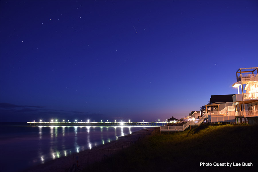 Evening Pier | photo courtesy of Photo Quest by Lee Bush